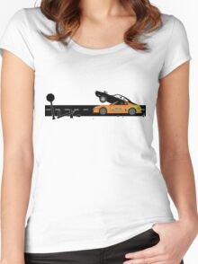 The Fast and the Furious Classic Moment Women's Fitted Scoop T-Shirt