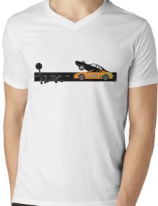 The Fast and the Furious Classic Moment Mens V-Neck T-Shirt