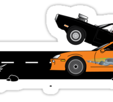The Fast and the Furious Classic Moment Sticker