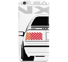 Nissan NX Pulsar Coupe - White iPhone Case/Skin