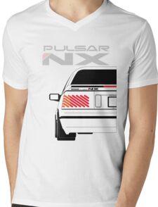 Nissan NX Pulsar Coupe - White Mens V-Neck T-Shirt