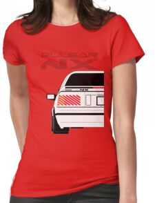 Nissan NX Pulsar Coupe - White Womens Fitted T-Shirt