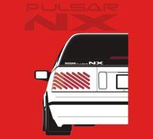 Nissan NX Pulsar Sportback - White Baby Tee