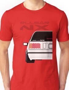 Nissan NX Pulsar Sportback - White Unisex T-Shirt