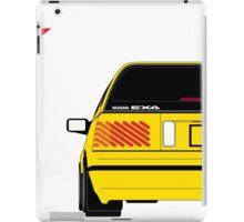 Nissan Exa Sportback - Yellow iPad Case/Skin