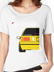 Nissan Exa Sportback - Yellow Women's Relaxed Fit T-Shirt