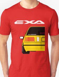 Nissan Exa Sportback - Yellow Unisex T-Shirt