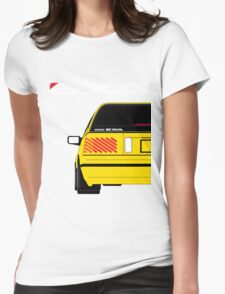 Nissan Exa Sportback - Yellow Womens Fitted T-Shirt