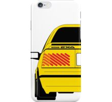 Nissan Exa Coupe - Yellow iPhone Case/Skin