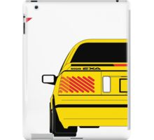 Nissan Exa Coupe - Yellow iPad Case/Skin