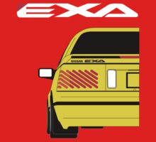 Nissan Exa Coupe - Yellow Kids Clothes