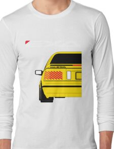 Nissan Exa Coupe - Yellow Long Sleeve T-Shirt