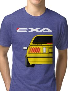 Nissan Exa Coupe - Yellow Tri-blend T-Shirt