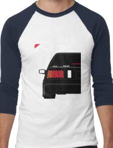 Nissan NX Pulsar Sportback - Black Men's Baseball ¾ T-Shirt