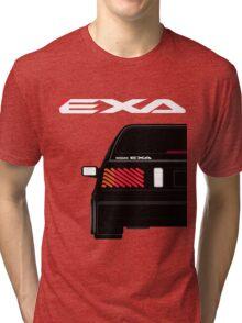 Nissan Exa Sportback - Black Tri-blend T-Shirt
