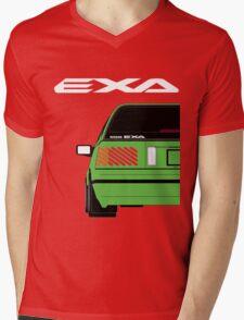 Nissan Exa Sportback - Greeb Mens V-Neck T-Shirt