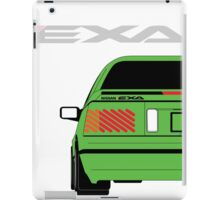 Nissan Exa Coupe - Green iPad Case/Skin