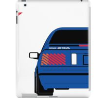Nissan Exa Coupe - JAP Edition Blue iPad Case/Skin