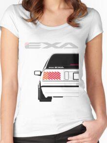 Nissan Exa Sportback - White Women's Fitted Scoop T-Shirt
