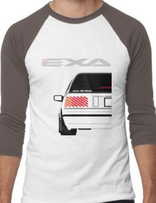 Nissan Exa Sportback - White Men's Baseball ¾ T-Shirt