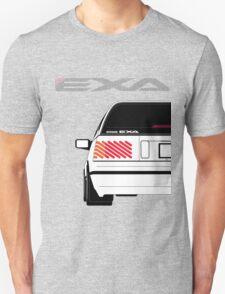 Nissan Exa Sportback - White Unisex T-Shirt