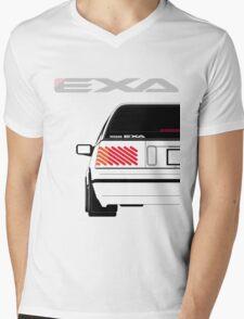 Nissan Exa Sportback - White Mens V-Neck T-Shirt