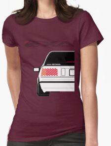Nissan Exa Sportback - White Womens Fitted T-Shirt