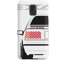 Nissan Exa Coupe - White Samsung Galaxy Case/Skin