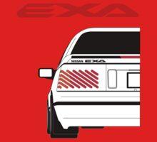 Nissan Exa Coupe - White Kids Clothes