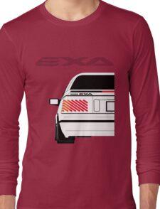 Nissan Exa Coupe - White Long Sleeve T-Shirt