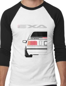 Nissan Exa Coupe - White Men's Baseball ¾ T-Shirt
