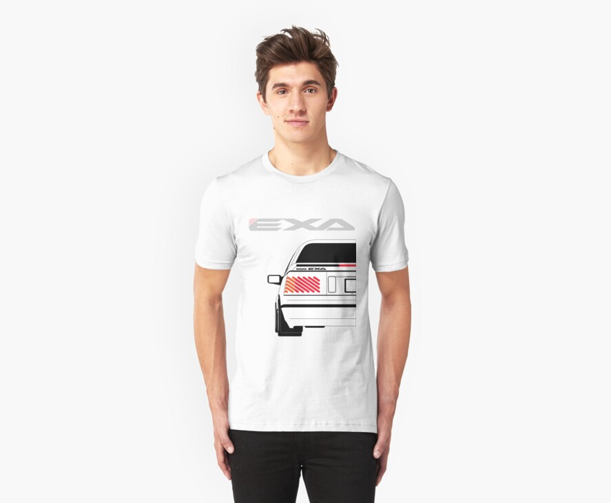 Nissan Exa Coupe - White by SEZGFX