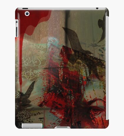 Freedom-Graffiti/Fantasy Style iPad Case/Skin