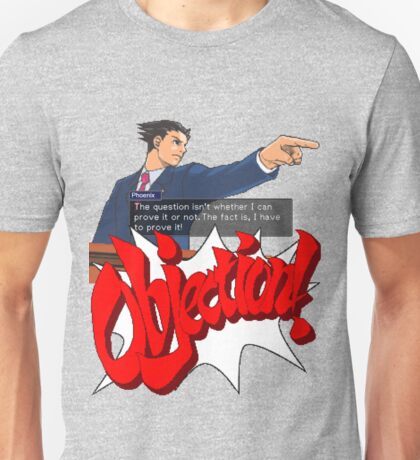 Ace Attorney - Phoenix Wright Unisex T-Shirt
