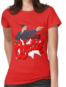 Ace Attorney - Phoenix Wright Womens Fitted T-Shirt