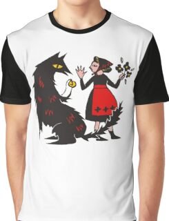 What's the time, Mr Wolf Graphic T-Shirt