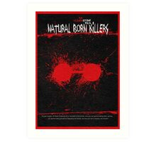 Natural Born Killers Art Print