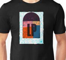 Stereo LP Vinyl Record Floral Unisex T-Shirt