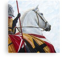 Defenders of Truth/God's Warrior Canvas Print