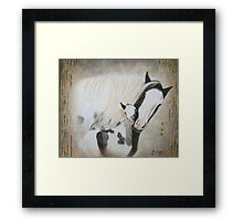 Smotherly Love Framed Print