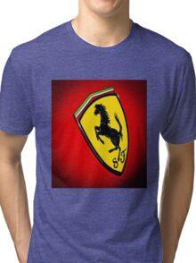 Il Cavallino Ferrari Tri-blend T-Shirt
