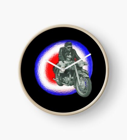 Billy Fury biker Clock