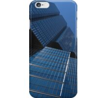 Oh So Blue - Downtown Toronto Skyscrapers iPhone Case/Skin