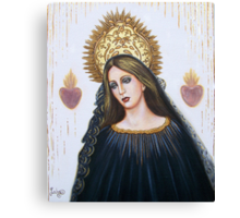 Crowned For Love Canvas Print