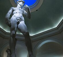 Michelangelo's David by Georgia Mizuleva