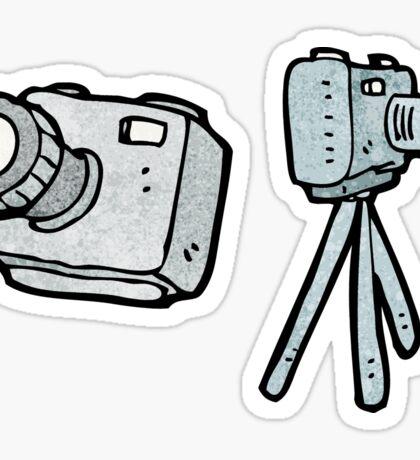 cartoon camera Sticker
