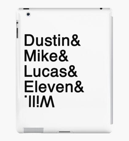 Stranger Things Helvetica iPad Case/Skin