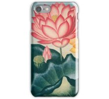 The Sacred Egyptian Bean  iPhone Case/Skin