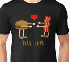 Hamburger True Love Funny Food Tee Shirt Unisex T-Shirt