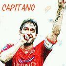 """Francesco Totti """"IL Capitano"""" ROMA by DABC"""